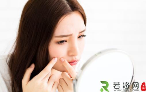 脸上痘痘可不可以挤 长痘痘与皮肤代谢不畅有关