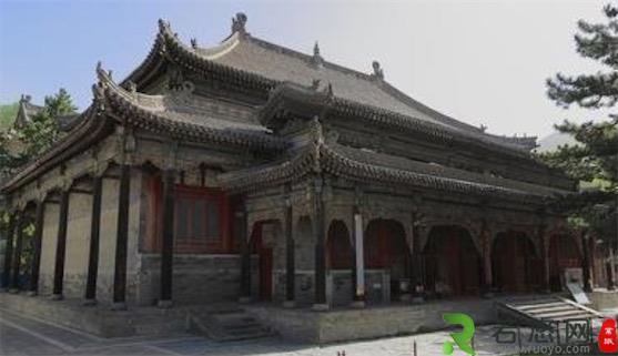 中国历史上第二座寺庙 显通寺始建于汉明帝永平年间